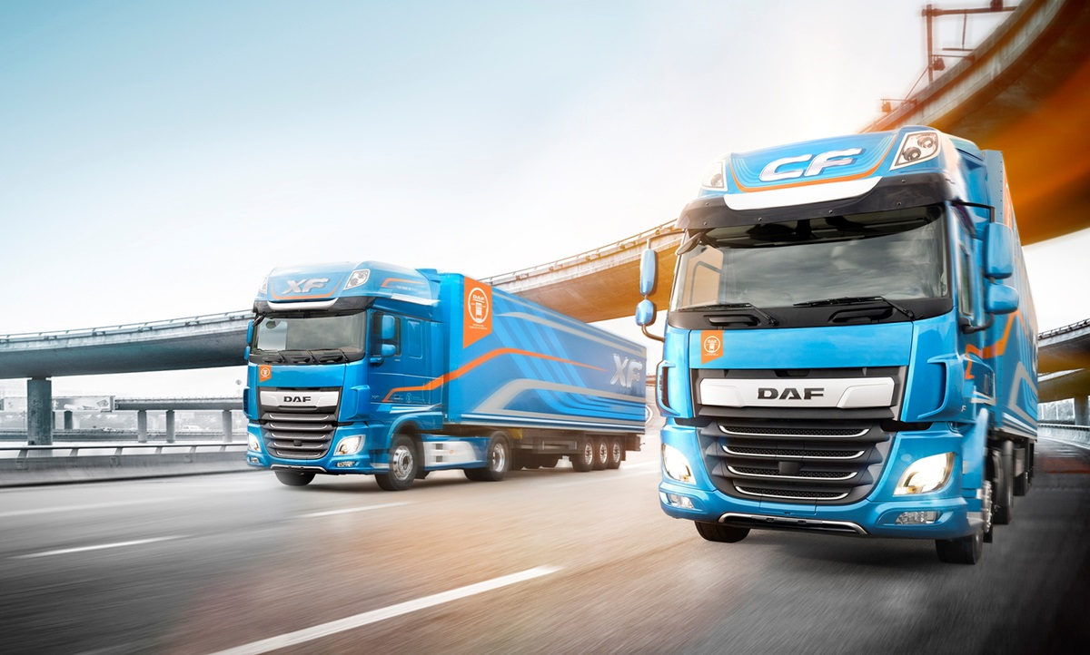 International Truck of The Year 2018 - DAF New XF New CF