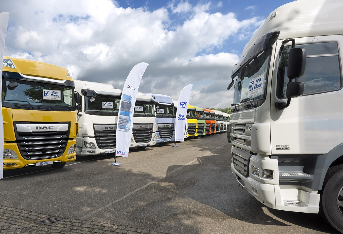 Saving on fuel with a nearly new DAF truck