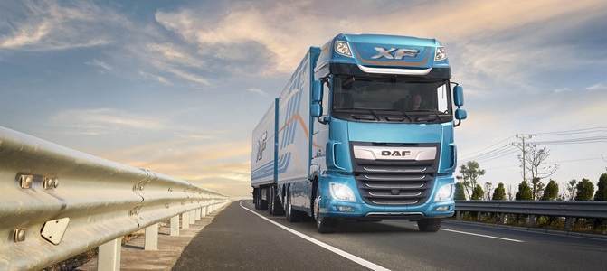 DAF new XF series awarded Top Truck Slovakia 2018